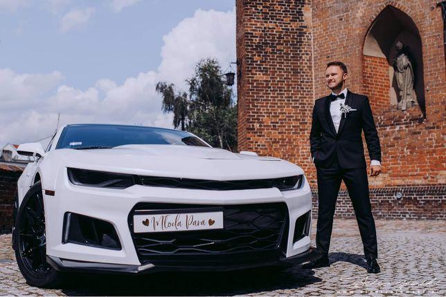 Samochód do ślubu | Auto do ślubu | Wynajem | Chevrolet Camaro