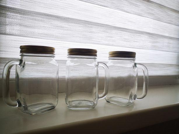 Емкости стеклянные для специй или приправ 6шт