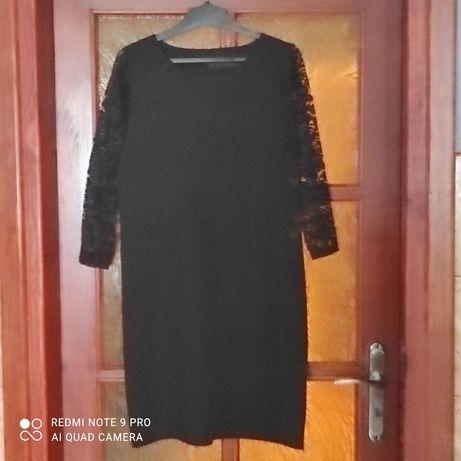 Czarna sukienka L z koronką wysyłka