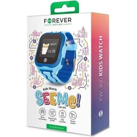 Nowy Smartwatch FOREVER Kids Watch See Me KW-300