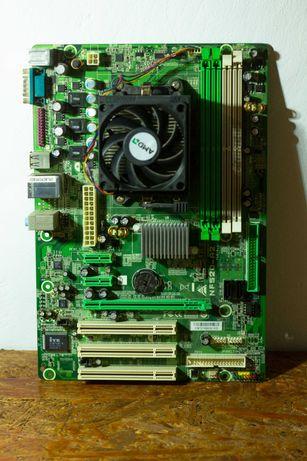 Комлект Biostar NF-520-A2 6.1 / Athlon 64 x2 4000 / кулер