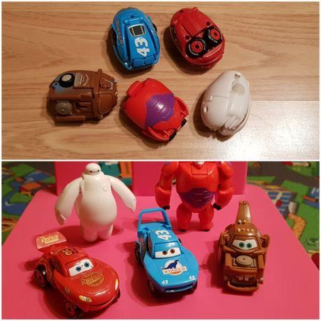 Jajka Transformers Auta Cars