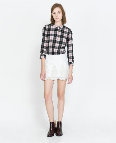 Mini saia Zara, nunca usada