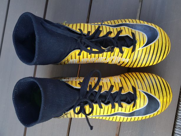 Korki Nike Mercurial ze skarpeta rozmiar EU 37,5 UK 4,5