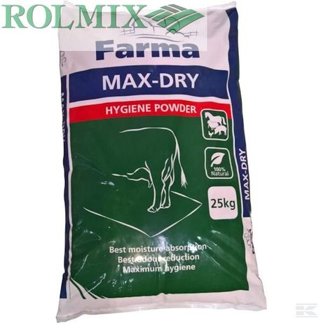 Max-dry do suchej dezynfekcji pomieszczeń 25 kg