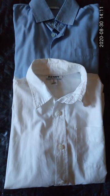 Рубашки для мальчика 9-10 лет, рост 140-146