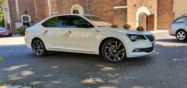 Auto do ślubu Skoda Superb Sport Line