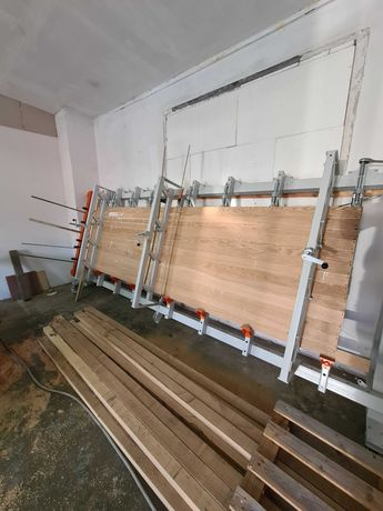 Blaty lite drewno dębowe klejone, schody, stopnie, trepy, parapety