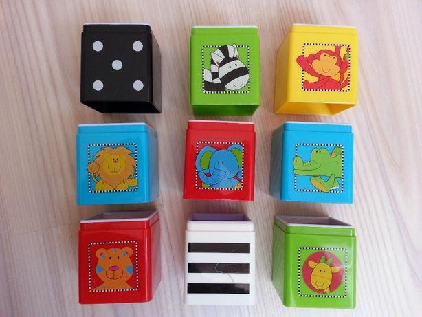 Фирменные кубики развивающие Mothercare для детей 1-3 лет