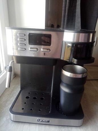 Ekspres do kawy ciśnieniowy przepływowy kawa latte