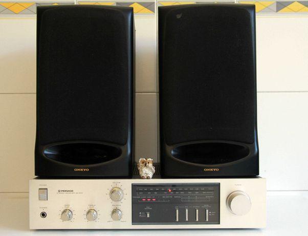 Pioneer SX400  Receiver + colunas Onkyo