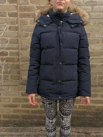 пуховик на рост 160 см H M пух H&M куртка не парка курточка