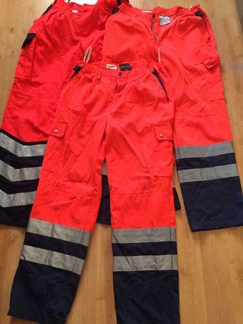 Spodnie odblaskowe uzywane rozmiar48, 50,52,54,56,58,60,62,64