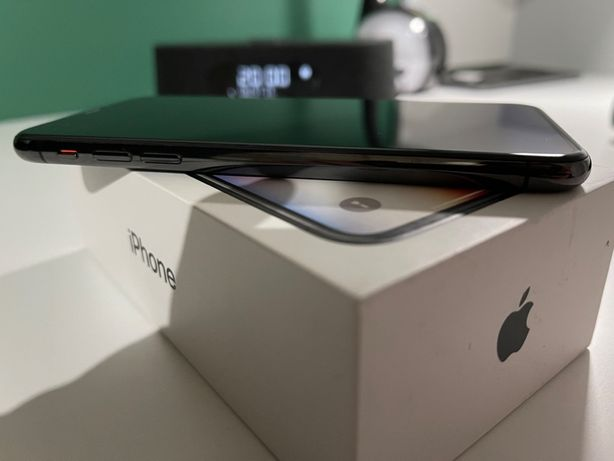 iPhone X, space gray, 256gb, używany, stan idealny