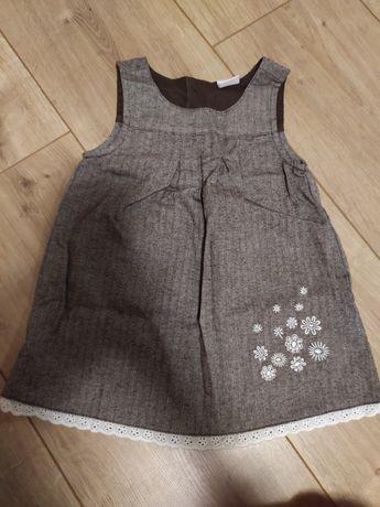 Платье(сарафан) для девочки на рост 74 см.