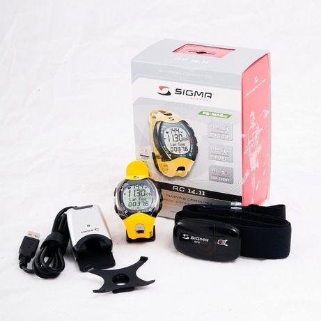 Профессиональный пульсометр Sigma Sport RC 14.11, датчик R3 Comfortex