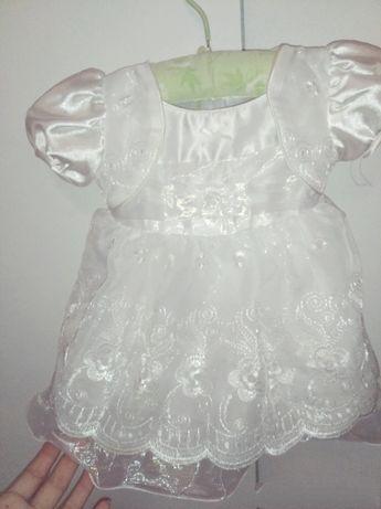 Нарядное платье для малышки 6-9 месяцев!