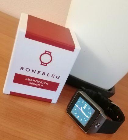 Smartwatch zegarek RONEBERG R09 na karty SIM dotykowy ekran rozmowy