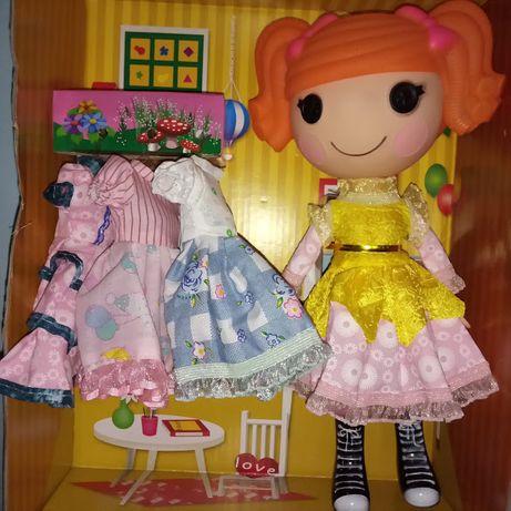Кукла Лалалупси с нарядом (3 платья)