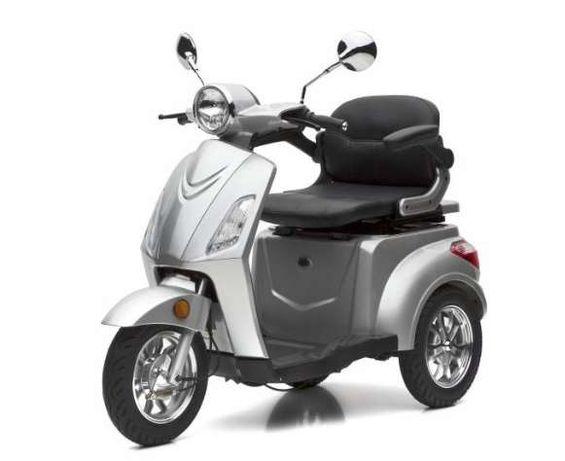 Trójkołowy Skuter elektryczny wózek inwalidzki