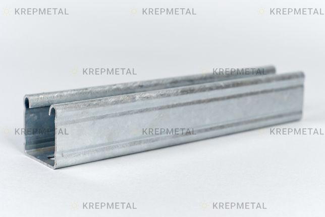 Профиль монтажный оцинкованный для крепления солнечных панелей
