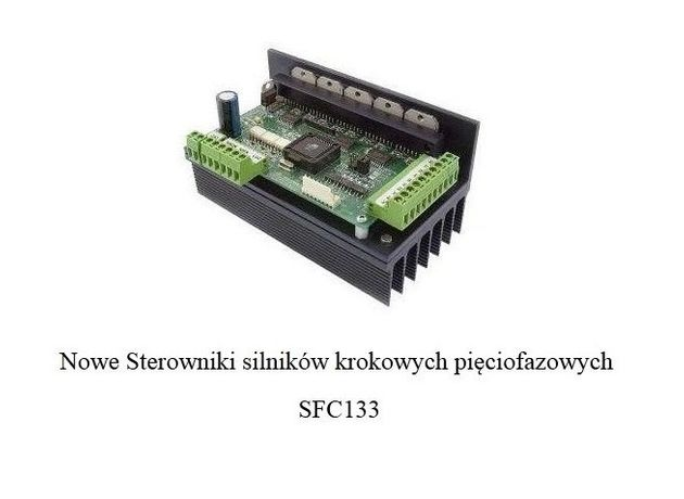 Sterownik silnika krokowego pięciofazowego SFC133!