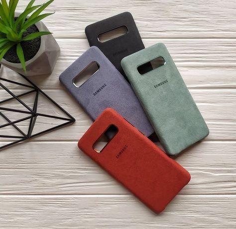 Чехол Алькантара Samsung Galaxy s9 s10e s10 s10+ s20 Note 9 10 Plus