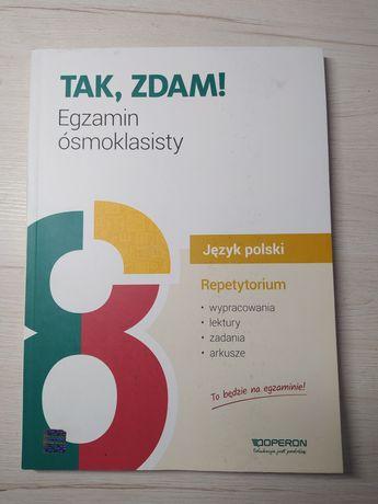 Egzamin ósmoklasisty 2021. Język polski.Repetytorium Operon