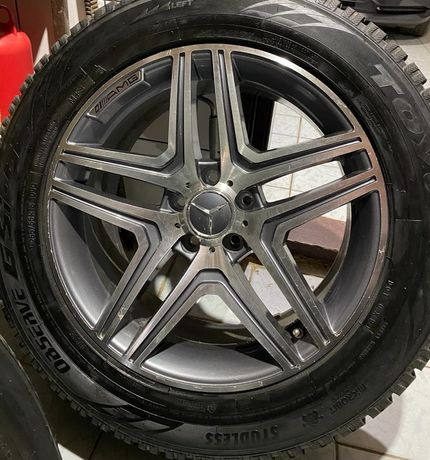 Диски на Mercedes AMG 255/55/R18 c резиной TOYO observe GSI5
