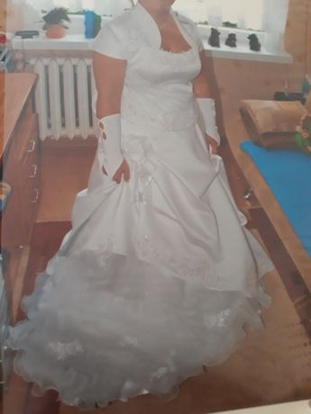 Sukienka ślubna r.40