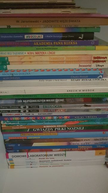 Książki dla dzieci do wyboru