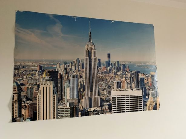 Plakat tapeta New York city Manhattan 150 cm x 100 cm