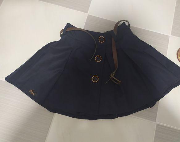 Школьная юбка и рубашка