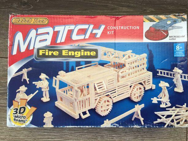 Конструктор пожежна машина (Match Fire Engine  ) з різаком та клеєм