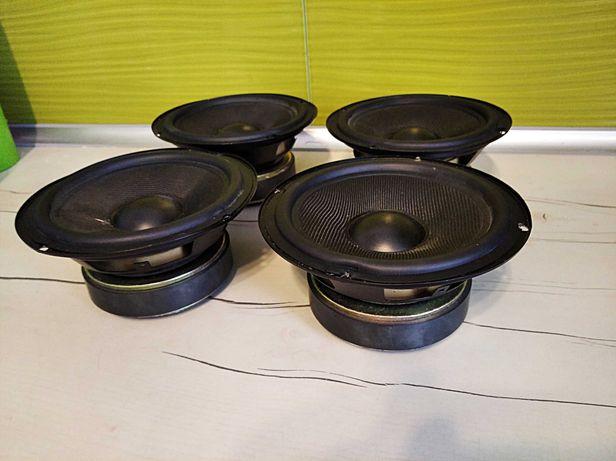 Dwa głośniki niskotonowe 100W/4ohm/165 mm