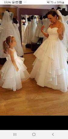 Super !!! Suknia Ślubna dla Mamy i Córki