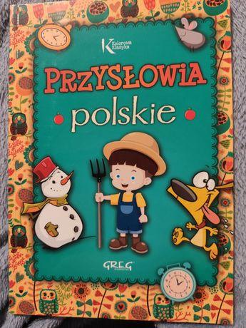 Książka dla dzieci - przysłowia polskie