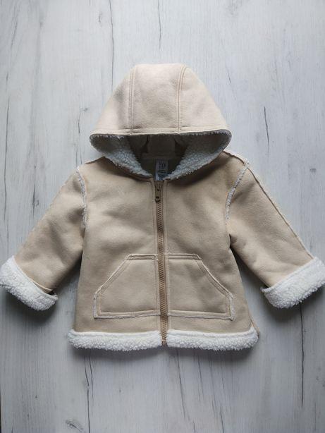 Дублянка куртка дитяча baby GAP на 6-12місяців