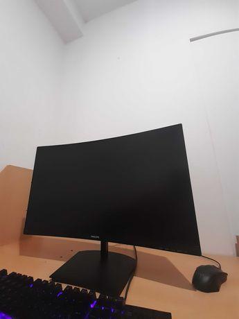 Monitor Curvo PHILIPS 271E1SCA (27'' - Full HD - LED VA)