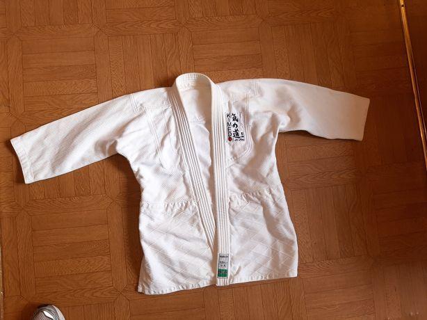 Кимоно для дзюдо ,джиу-джитсу  бе штанов и без пояса, рост 130
