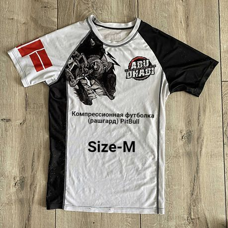 Компрессионная футболка (рашгард) PitBull (venum tapout manto tatami)