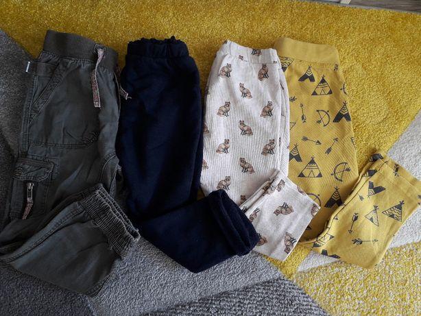 spodnie ZARA, LINDEX, rozm 104,