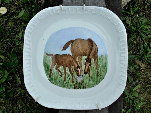 Talerz Wawel porcelana