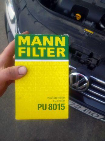 Паливний (топливный) фільтр WV.  MANN-FILTER PU8015