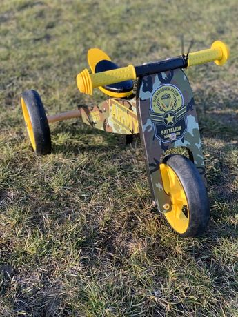 Rower biegowy - Jake, Milly Mally Army 2w1, dwukołowy, trójkołowy