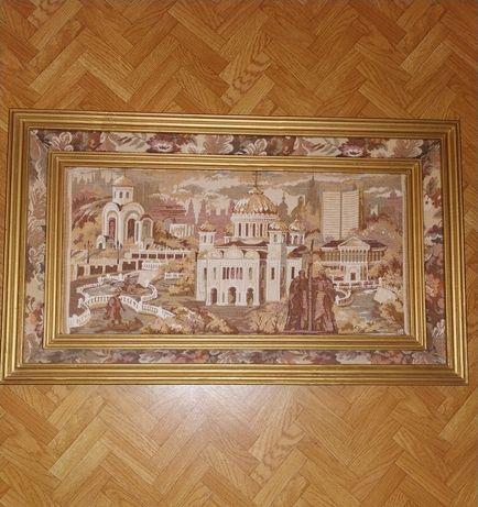 Продам рарететную габеленовую картину