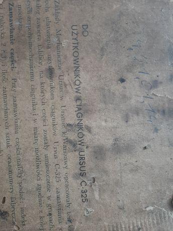 Ursus c325 instrukcja napraw katalog