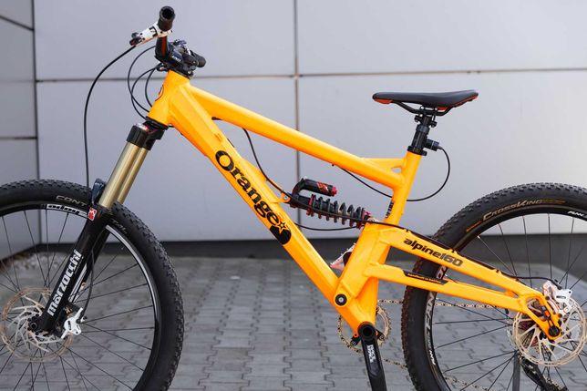 Rower Enduro Orange Alpine 160 L 27,5   11 biegów   Specialized, Trek,