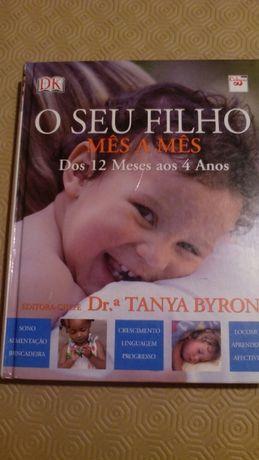 """Livro """"o seu filho mês a mês"""""""