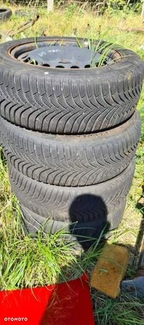 Opony zimowe felgi 16 5x112 205 55 17 VW Sharan